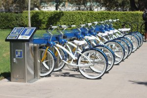UC Irvine bike share program