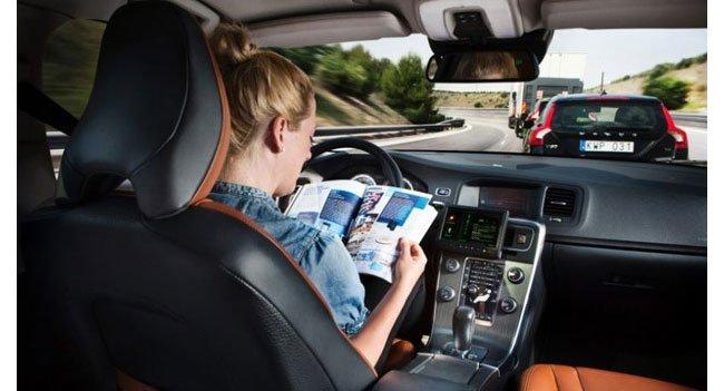 Volvo autopilot car