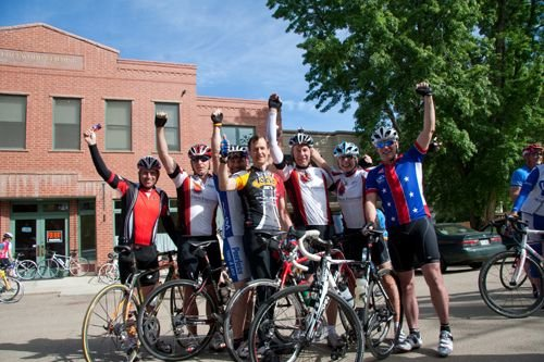 Davis Phinney Foundation charity bike ride