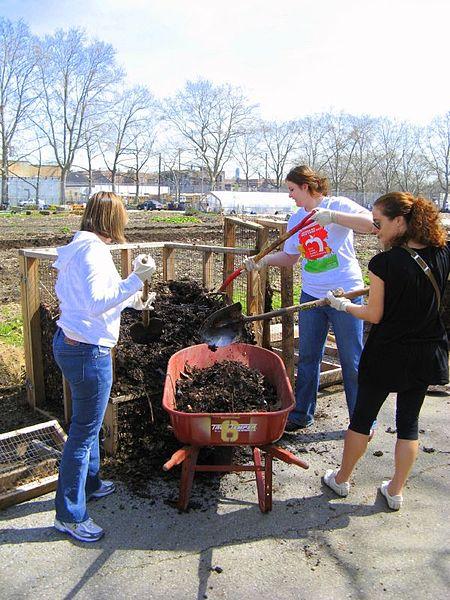 composting together