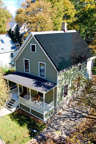 off the grid zero energy home